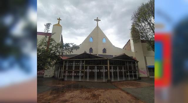 Roban custodia de la parroquia de Compartir, Soacha