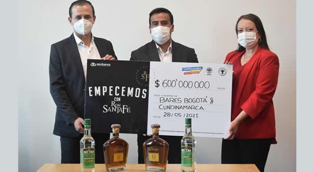 Ron Santafé aporta $600 millones para la reactivación de bares de Bogotá y Cundinamarca