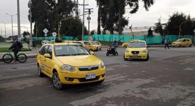 Soacha amaneció sin servicio de taxis