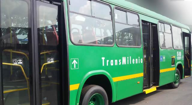 Transmilenio cancela operación a Soacha