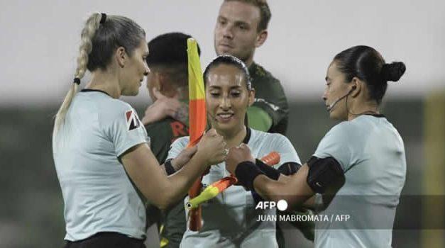 Cuatro mujeres hacen historia en Copa Libertadores