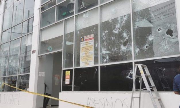 Alcaldía y Fiscalía de Soacha también fueron  afectadas tras jornada de paro