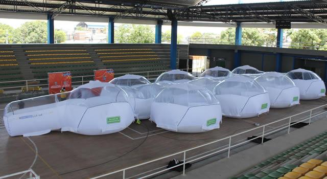 En Zipaquirá y Pacho, Cundinamarca, se entregaron nuevas unidades de aislamiento portátil