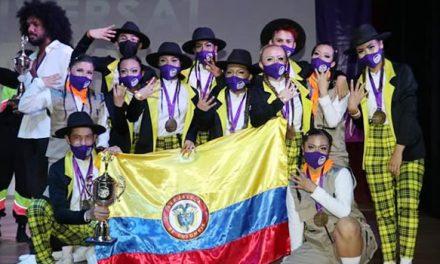 A 4 Urban de Soacha, campeón del Universal Dance World Championship de México