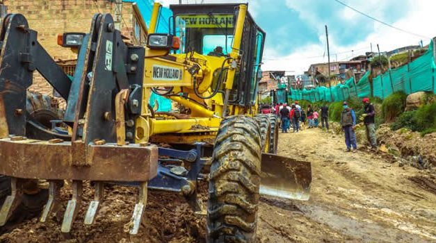 Un recorrido por las obras viales de Soacha