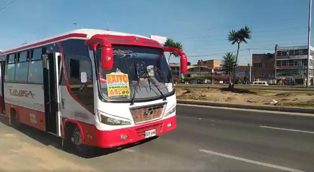 Las nuevas rutas de transporte entre Soacha y Bogotá no irían por la autopista Sur