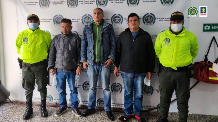 Duro golpe a Los Chacales, banda dedicada al hurto de comercio en Bogotá