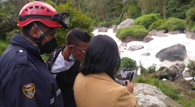 Continúa búsqueda de Cristián Romero, joven que hace 8 días cayó al río Bogotá