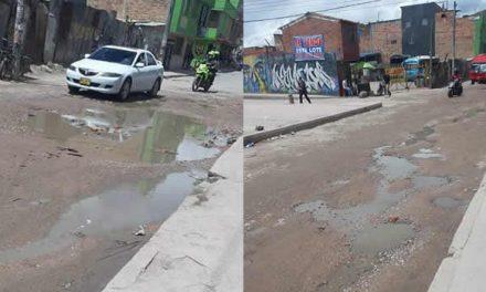 [VIDEO] Alcalde, ¿hasta cuándo el arreglo de la calle 22 de Soacha?