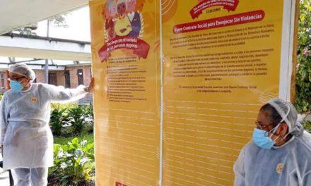 Centro Femenino J.J. Vargas de Sibaté firma pacto contra el maltrato a las personas mayores