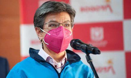 Claudia López rechazó la 'toma a Bogotá', prevista para el 9 de junio