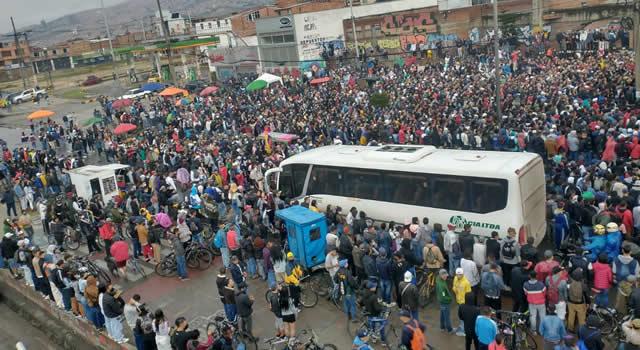 Masivo concierto de hip hop en Soacha en medio del paro nacional