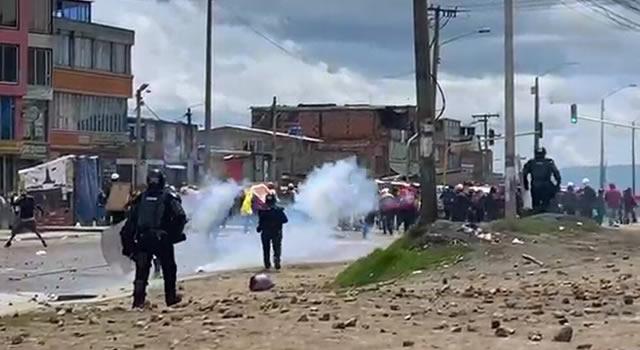 Confirman muerte de persona que al parecer participó en manifestaciones de Usme