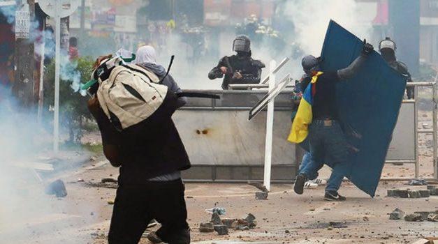 Muere otro joven en medio de las protestas en Bogotá