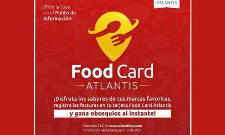 Amantes de la gastronomía tendrán en Atlantis una nueva tarjeta para premiar su consumo
