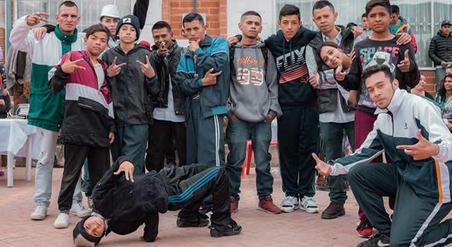 Jóvenes de Soacha resisten por medio del arte y la cultura