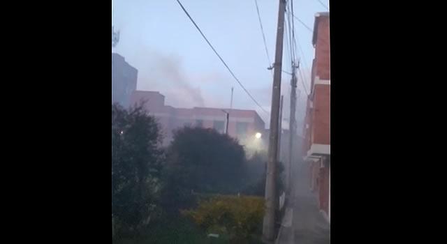 Fábrica de procesar papas amenaza salud de habitantes de un conjunto residencial de Soacha