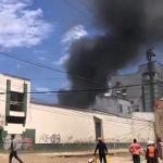 [VIDEO]  Incendio en zona industrial de Soacha