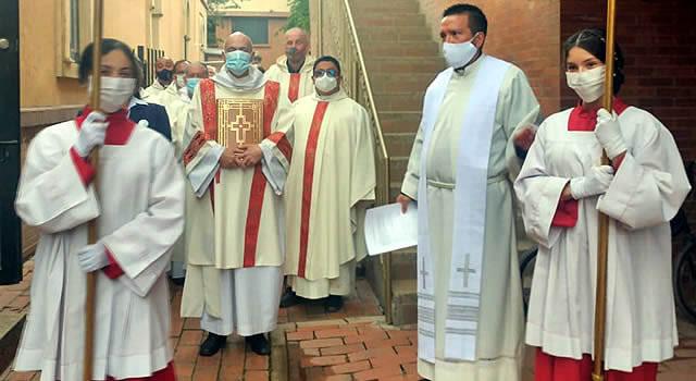 Nuncio Apostólico presidió misa en Soacha