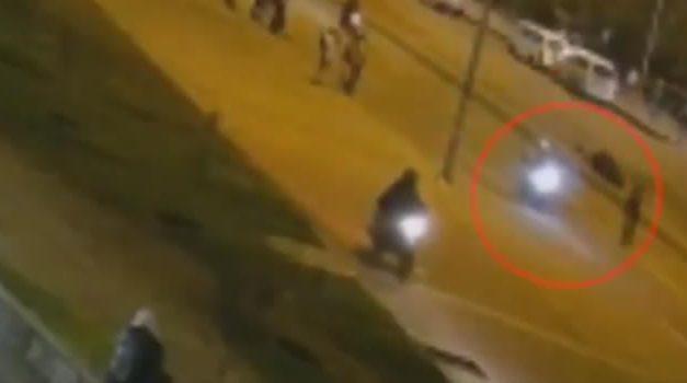 Así murió motociclista cuando intentó pasar cable instalado por manifestantes en Bogotá