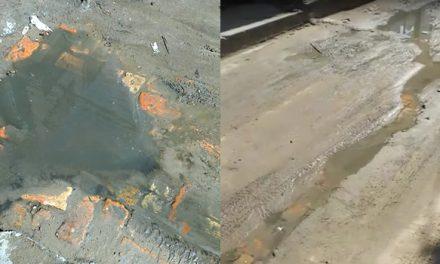 [VIDEO]  En Nuevo Colón, Soacha, ya no aguantan más los fétidos olores por rebose de alcantarillas