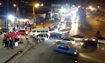 De nuevo bloquean la autopista Sur en Soacha, comienza el caos vehicular