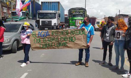 Ambientalistas marchan en Soacha, autopista sin problemas a esta hora