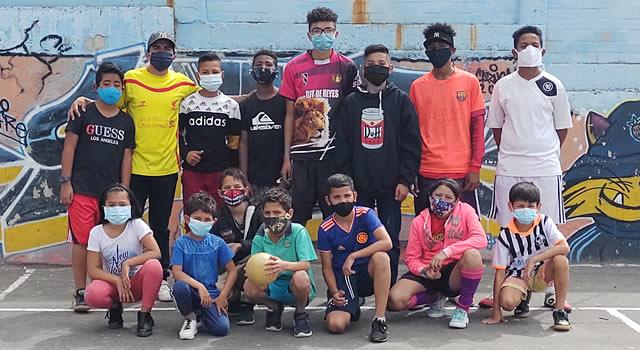 Fredy Fonseca, el líder de Soacha que busca la transformación social por medio del fútbol