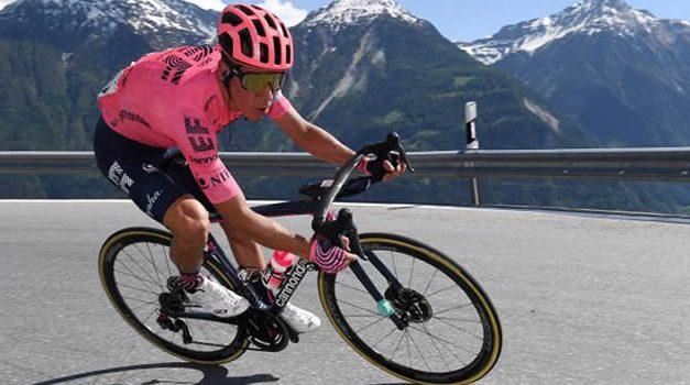 Rigoberto Urán ganó la crono en la vuelta a suiza