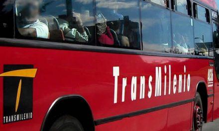 Transmilenio cancela rutas y servicio a Soacha