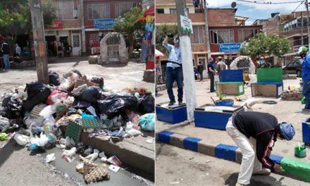 Erradicando los puntos de acumulación de basura en Soacha