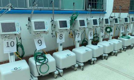 Alivio UCI en Cundinamarca, se habilitan 135 nuevos ventiladores