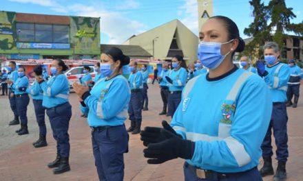 Del rojo al azul, la nueva presentación de los AVE en Soacha