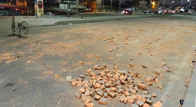 La razón por la que el 20 de Julio se enfrentaron policías y manifestantes en Soacha