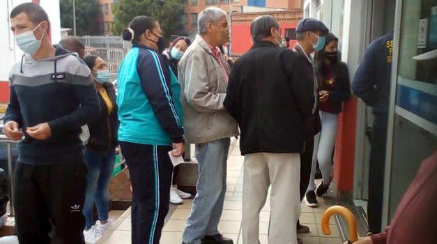 Denuncian aglomeraciones y mal servicio en la IPS Cafam de Unisur Soacha