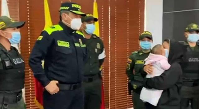 En el Espinal encontraron bebé de seis meses raptada en Bogotá