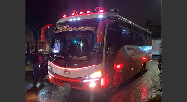Otro asalto a un bus intermunicipal en Bogotá, el vehículo iba para Facatativá