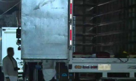 Delincuentes roban camión lleno de mercancía en Bogotá