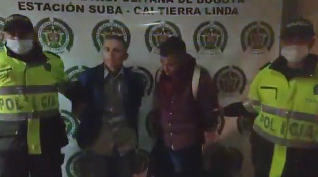 Asaltantes de bus intermunicipal fueron capturados en Bogotá