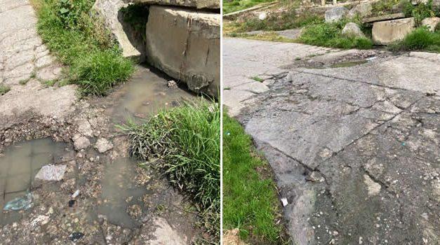 [VIDEO] Afectación de aguas residuales en El Charquito, Soacha, ya completa dos meses