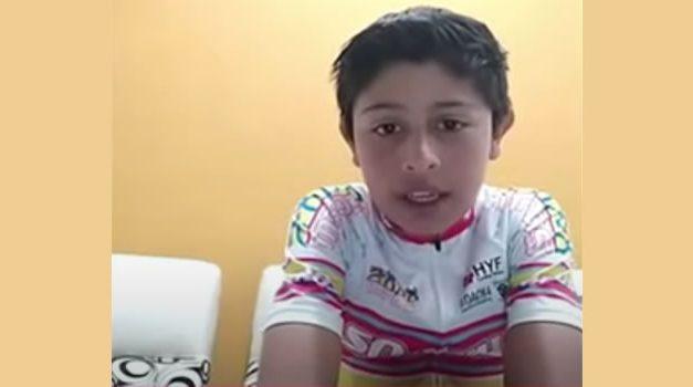 Niño de Soacha gana copa departamental de ciclomontañismo