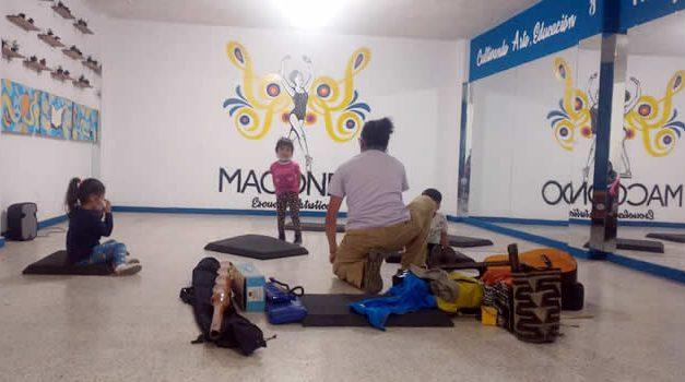 Macondo, escuela artística de Soacha que transforma por medio del arte