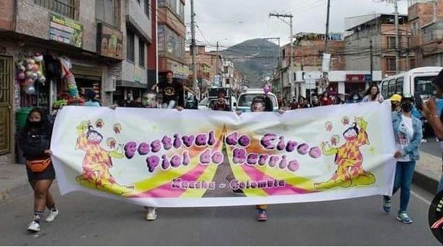Primer Festival de Circo Social en Soacha