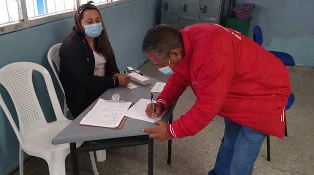 Más de 500 personas se vacunaron en jornada contra el COVID-19 en Soacha