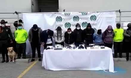 [VIDEO] Capturan a 'Los Ducaleños' en Soacha, responsables de 8 homicidios y venta de estupefacientes