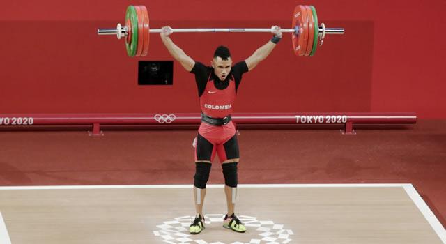 Luis Javier Mosquera logra primera medalla para Colombia en los Olímpicos de Tokio