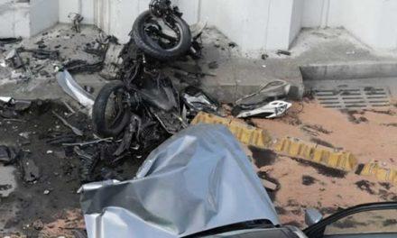 Borracho estaba conductor de camioneta que mató a motociclista en el deprimido de la 94
