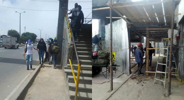 Denuncian irregularidades en obra que se adelanta sobre autopista Sur en Soacha