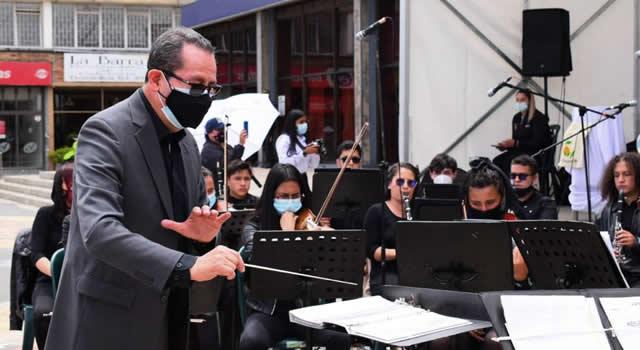 Corabastos celebra aniversario con la orquesta sinfónica de Soacha