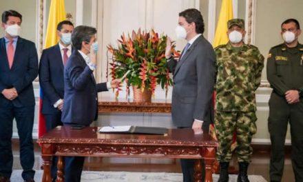 Se posesionó Aníbal Fernández de Soto, nuevo secretario de Seguridad de Bogotá